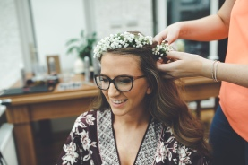 She made a flower crown for me which I was so ecstatic with!