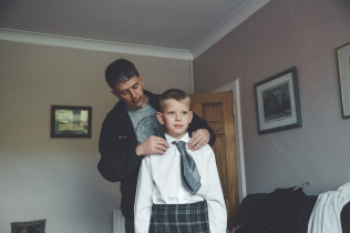 My handsome little brother getting ready to fulfill his usher duties. My other brother, Liam, didn't want to be an usher. I'm glad he was honest :)