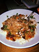 lentil curry - honestly so good